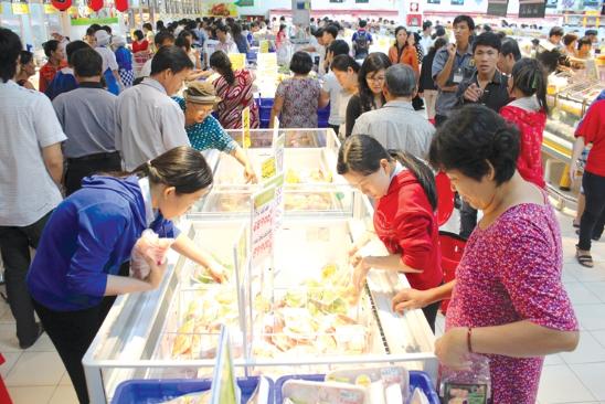 Ngành thực phẩm và đồ uống Việt Nam vẫn còn nhiều tiềm năng phát triển. Ảnh: X.Thảo.