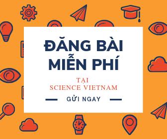 Đăng bài miễn phí tại Science Vietnam