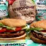 Bánh kẹp thịt Impossible Whopper do nhà hàng Burger King cung cấp